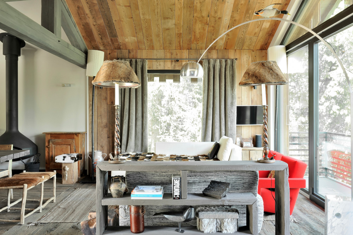 The most modern chalets interior · chaletowners